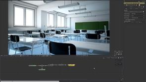 Lighting an indoor scene with V-Ray for Softimage