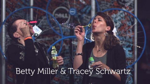 Betty Miller & Tracey Schwartz