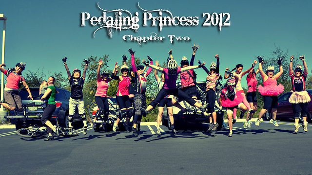 Pedaling Princess | Princesses gone wild, Two. on Vimeo - The 3rd Semi-Annual Princess Ride led by women and structured for girl mountain bikers of all levels.  Filmed and Edited by Indy Isk. Music by Katy Perry 