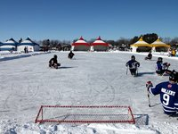 Monster Pond Hockey 2012