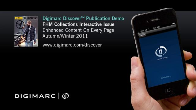 FHM Collections (Fully Interactive Publication) - Digimarc Discover Example