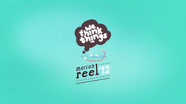 Motion Reel 2012