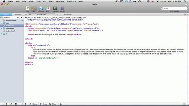 Webmaster - Ordenar la estructura de capas de una plantilla web