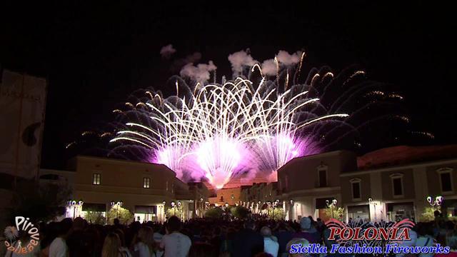 Sicilia Fashion Fireworks - JORGE Fireworks  (POLONIA - anno 2011)