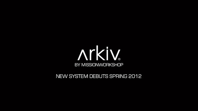 Watch | Mission Workshop &#8211; Arkiv System Bags