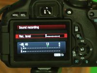 canon t3i 600d setting manual sound recording levels close up on vimeo rh vimeo com Online Manual Canon T3i Canon T3i Manual Screen