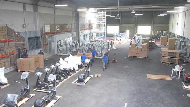 D coration de la salle de sport gigagym bordeaux on vimeo - Decoration salle de sport ...