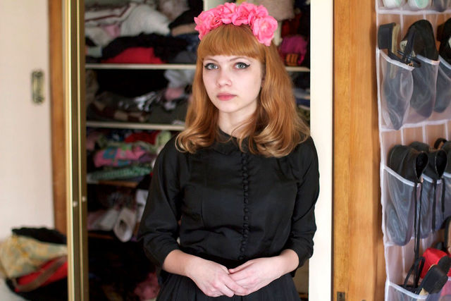 Tavi Gevinson Closet Interview for Stylelikeu.com