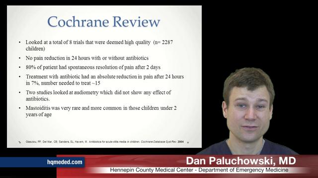 Otitis Media: Antibiotics?