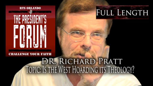 Is the West Hoarding it&#039;s Theology? with Dr. Richard Pratt - August 31, 2011