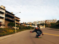 Comet Skateboards - Byron's Flowing