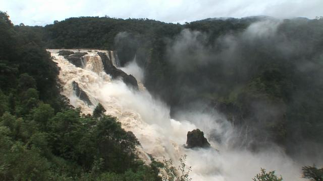 The MIGHTY Barron Falls - Tuesday 20th March - TO GET FULL EXPERIENCE TURN YOUR VOLUME RIGHT UP!
