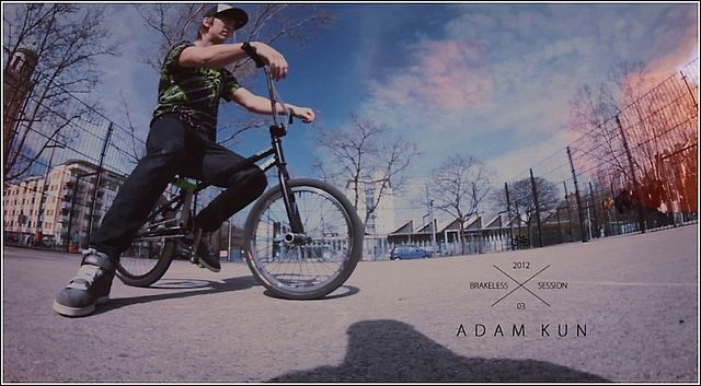 Monster Energy's ADAM KUN - Brakeless Session 2012