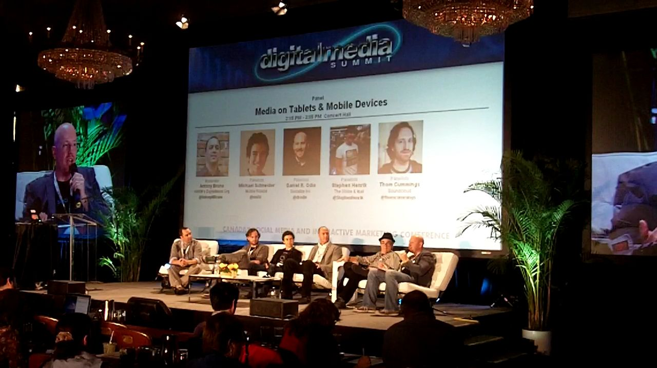 Socialize CEO Daniel Odio on Canadian Music Week Panel: Media on Tablets &amp; Mobile Devices