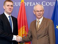 Meeting with the Prime Minister of Montenegro, Igor LUKŠIĆ