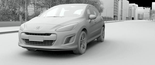 Film CGI Peugeot 308 Breakdown