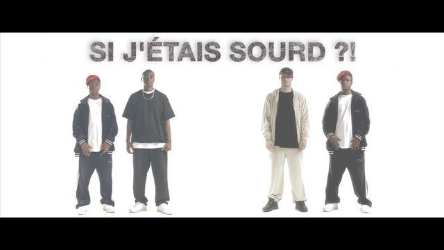 """La Résistance """"si j'étais sourd ?!"""" (deaf hiphop)"""