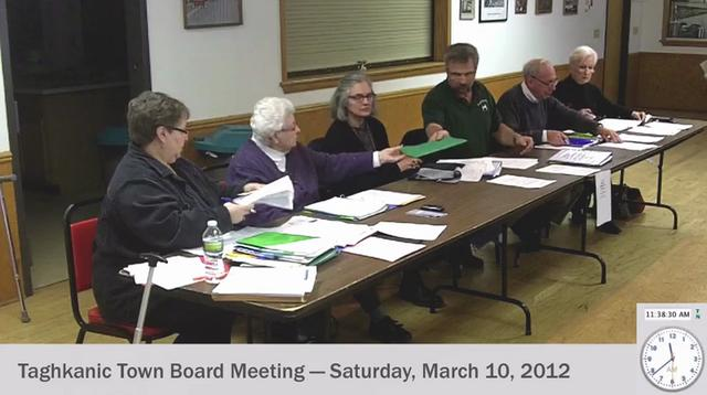 Mar 10, 2012 [Pt. 2 OF 2]: Taghkanic Town Board Meetingtaghkanic town