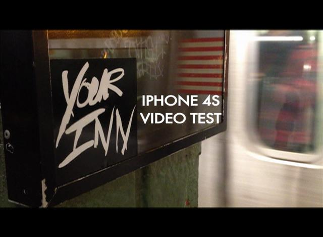 YOUR INN - iPhone 4s NYC Subway Video Test