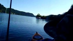 Kayak fly angler on vimeo for Henry hagg lake fishing