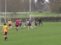 DCU Goal by Laura McEnaney
