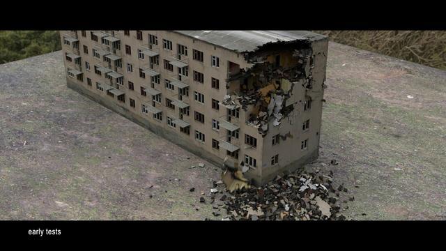 Destruction Simulation tests
