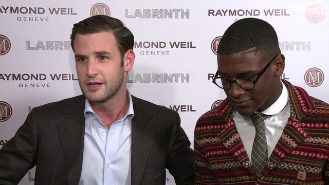 Raymond Weil Pre-Brit Awards Dinner feat. Labrinth & Chipmunk