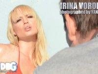 BEHIND THE SCENE WITH IRINA VORONINA and YANN FERON part 1