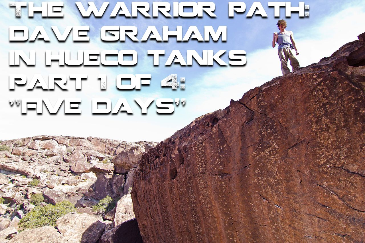 The Warrior Path Part 1 - Five Days