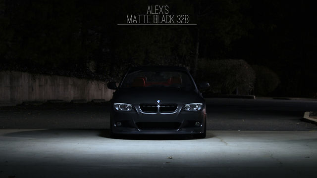 MIKEK MEDIA | Alex's Matte Black 328
