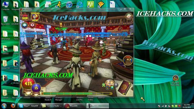 download and run wizard101 installer