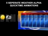 7 Day Weather Elements (Quicktime Versions)