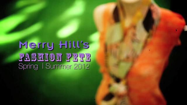 Merry Hill fashion Fate Spring | Summer 2012