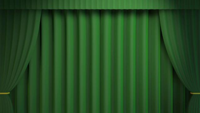 fancy green curtain on vimeo
