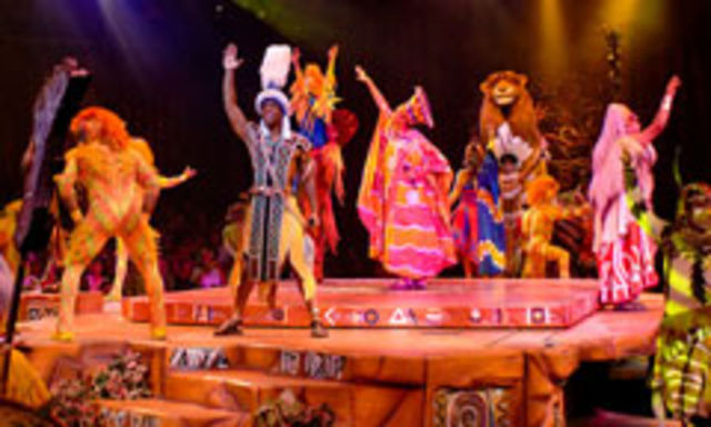 Festival of the Lion King at Walt Disney World's Animal Kingdom!