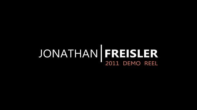 Jonathan Freisler 2011 Film VFX showreel