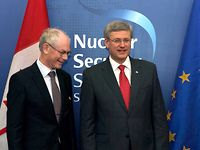 Meeting with the Prime Minister of Canada, Stephen HARPER