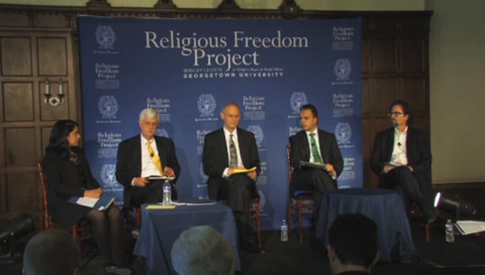 Religious Freedom: Why Now? Defending an Embattled Human Right (Panel Two)
