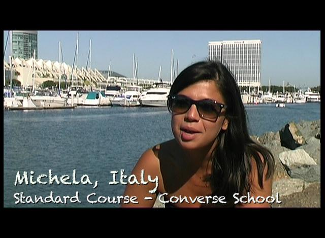 Voices of CISL San Diego - Michela (Italy)