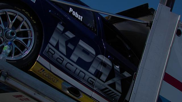 KPAX RACING IN CAR FROM ST PETERSBURG