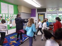3rd graders show off their dance moves!