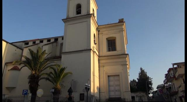 Gricignano (CE) - Come eravamo - La chiesa di S. Andrea Apostolo