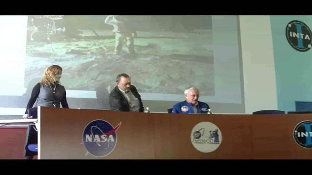 Astronauta Charlie Duke en Robledo de Chavela