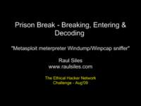 Metasploit meterpreter Windump/Winpcap sniffer