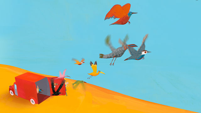 """""""meeting a little bird"""" trailer"""