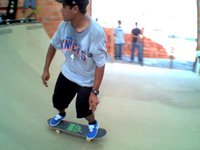 BOOERAGE - Marcelo Alves na minirrampa do Brasil Skate Camp
