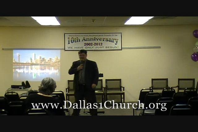 12 10th Anniversary Service - Pastor's Tribute To Tommy