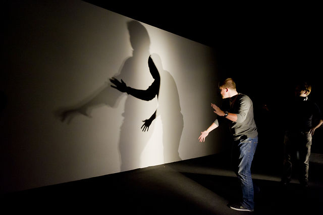 """Sustained Coincidence"" at Kunsthal KAdE (2010) by Rafael Lozano-Hemmer"