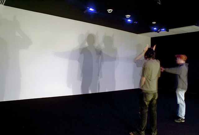 """Sustained Coincidence"" (2007) by Rafael Lozano-Hemmer"