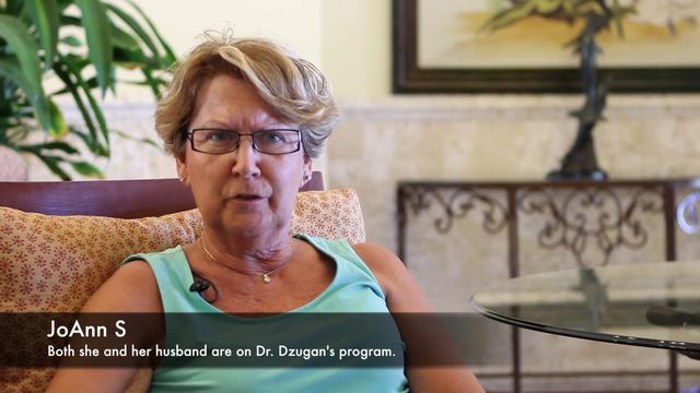 Patient feels difference with Dr. Dzugan's program